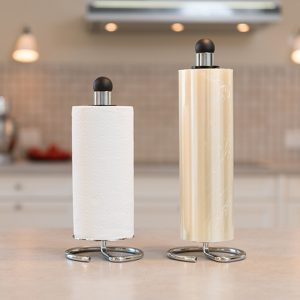 Snupit Paper og Snupit Wrapper,, model @, køkkenrulleholder og filmrulleholder
