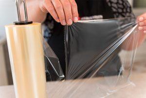 Form dine bøffer med film fra Snupit Wrapper