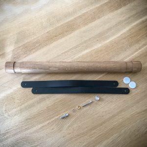 Snupit Wrapper Wood folierulleholder